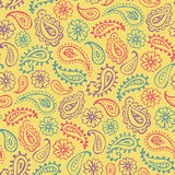Bohemian seamless pattern Royalty Free Stock Image