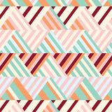 Bohemian Stripe Pattern. Bohemian Stripe in Summer Time Royalty Free Stock Photography