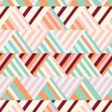 Bohemian Stripe Pattern Royalty Free Stock Photography