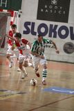 bohemians futsal slavia της Πράγας εναντίον στοκ εικόνα με δικαίωμα ελεύθερης χρήσης