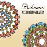 Bohemio icon design Royalty Free Stock Photo
