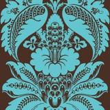 bohemisk blom- skraj zigenare stock illustrationer