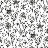 Bohemisk floranmodell Royaltyfri Fotografi