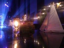 Bohemisk natt fotografering för bildbyråer