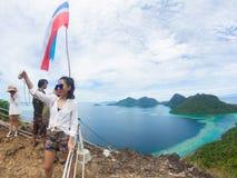 Bohey Dulang, Semporna stock afbeeldingen