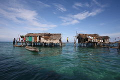Bohey Dulang wyspa Semporna Sabah Obrazy Royalty Free