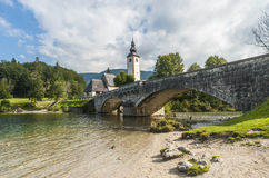 bohinj Σλοβενία Στοκ φωτογραφία με δικαίωμα ελεύθερης χρήσης