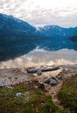 Bohinj Jezioro Obraz Royalty Free