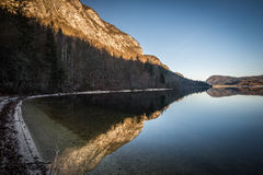 Bohinj Jezioro Obrazy Stock