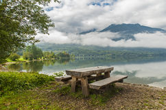 Bohinj jezioro, Slovenia Obraz Royalty Free