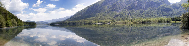 Bohinj lake Royalty Free Stock Image