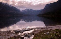 Bohinj lake Royalty Free Stock Images
