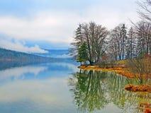 Bohinj Lake in the morning Royalty Free Stock Image