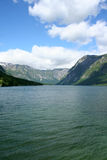 Bohinj lake Royalty Free Stock Photography