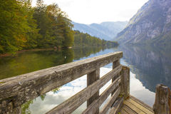 Bohinj lake, Slovenia Stock Image