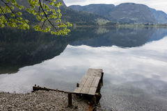 Bohinj lake Stock Image