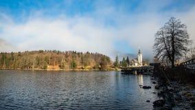 Bohinj Lake Royalty Free Stock Photography