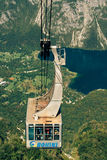 Bohinj lake Vogel cable car Stock Image