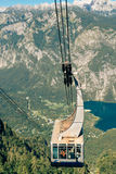 Bohinj lake Vogel cable car Stock Photo