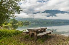 Bohinj sjö, Slovenien Royaltyfri Bild