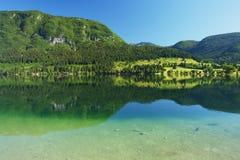 Bohinj, Slovenia. Bohinj Lake in Julian Alps, Slovenia Royalty Free Stock Images