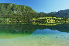 Bohinj, Slowenien Lizenzfreie Stockbilder