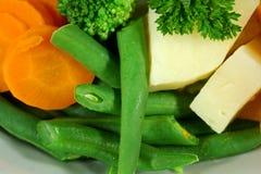 Bohnen, Karotte und Kartoffel Lizenzfreie Stockfotos