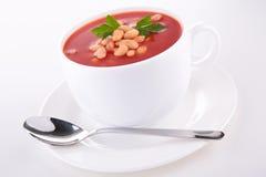 Bohnensuppe lizenzfreie stockfotos