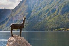 Bohnij See in Slowenien lizenzfreies stockfoto