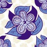 Boho样式手拉的无缝的样式 免版税图库摄影