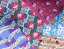 абстрактная этническая картина безшовная Племенная печать boho искусства Стоковое фото RF