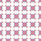 Boho Abstract Seamless Pattern Royalty Free Stock Image