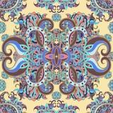 Boho-Art, ethnische Verzierung, nahtloses Muster Abstrakte Blumenbetriebsnatürliches Muster Lizenzfreies Stockfoto
