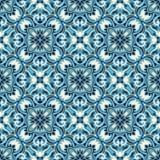 Boho-Blumen-Muster Stockbild