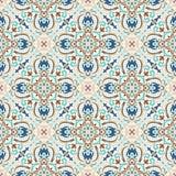 Boho-Blumen-Muster Lizenzfreies Stockfoto