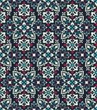 Boho-Blumen-Muster Lizenzfreie Stockbilder