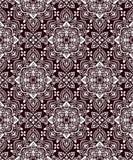 Boho-Blumen-Muster Stockfotografie
