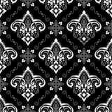 Boho-Blumen-Muster Lizenzfreies Stockbild