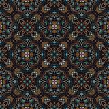Boho-Blumen-Muster Stockfoto