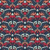 Boho-Blumen-Muster Stockfotos