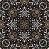 Boho-Blumen-Muster Stockbilder