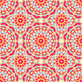 Boho Chic Colorful Pattern Royalty Free Stock Photography