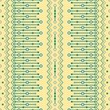 Boho chic sömlöst geometriskt tryck Royaltyfria Bilder