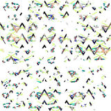 Boho disteressed геометрическая картина Стоковые Фото