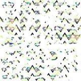 Boho disteressed geometrisches Muster Stockfotos