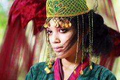 Boho eastern princess Stock Images