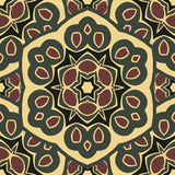 Boho-elegancia inconsútil del ornamento Imagenes de archivo