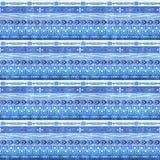 Boho ethnic seamless background. Tribal art boho print, ornament border. Background texture decoration. Royalty Free Stock Photography