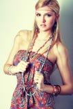 Boho fashion style Royalty Free Stock Image