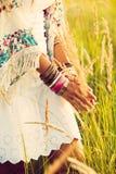 Boho fashion Stock Photo